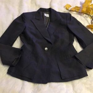 Armani Collezioni linen/silk blend jacket